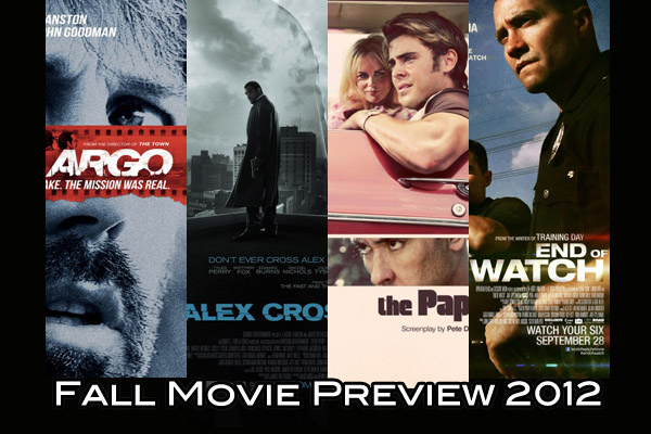 Fall movie preview 2012: thrillers